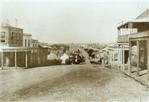 Darling St,Balmain in the inner west of Sydney in 1875.