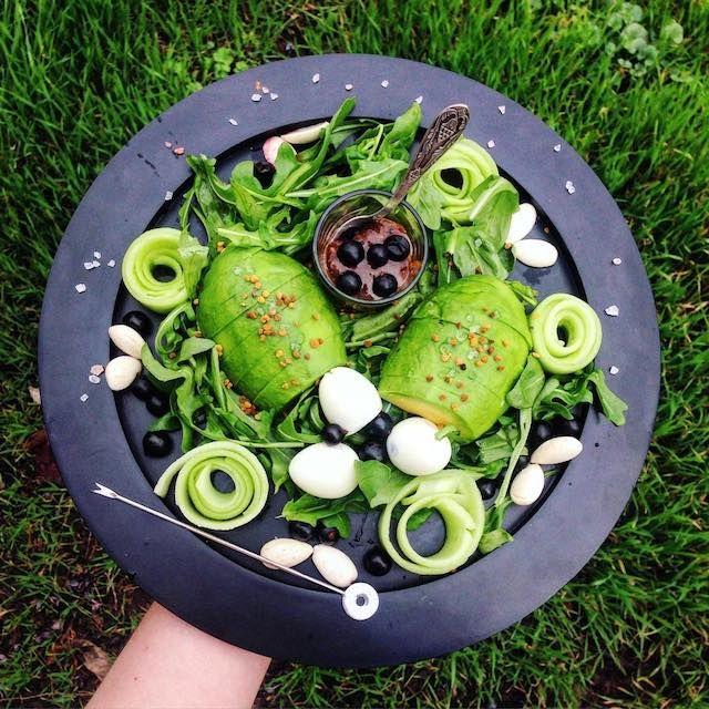 Зелёный обед, рецепт