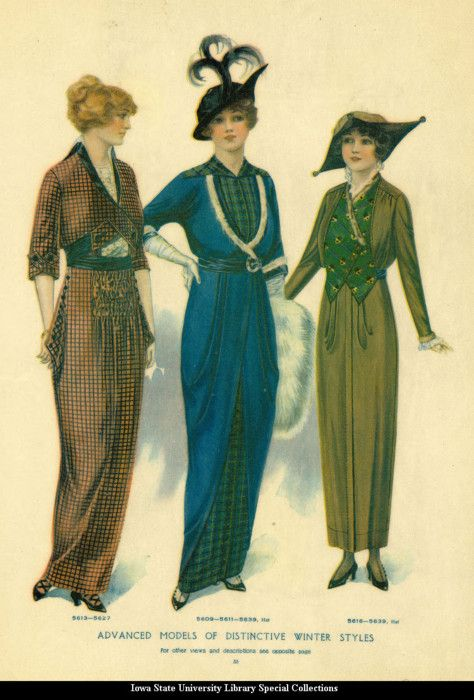 Day dresses, 1913, McCall's Magazine