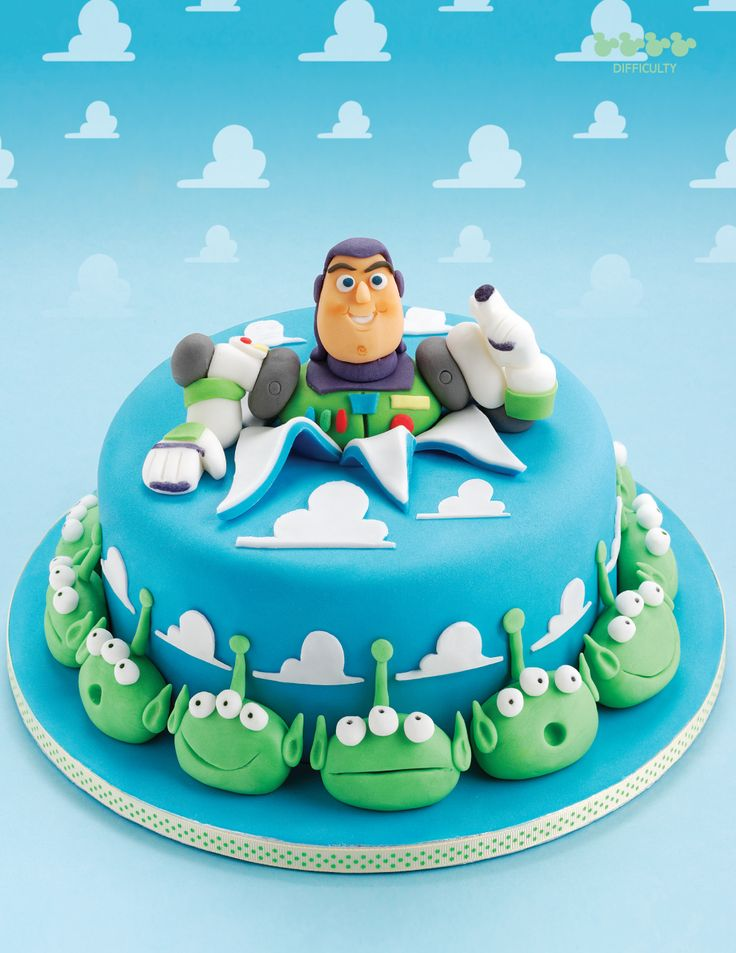 Buzz Lightyear cake - For all your cake decorating supplies, please visit craftcompany.co.uk