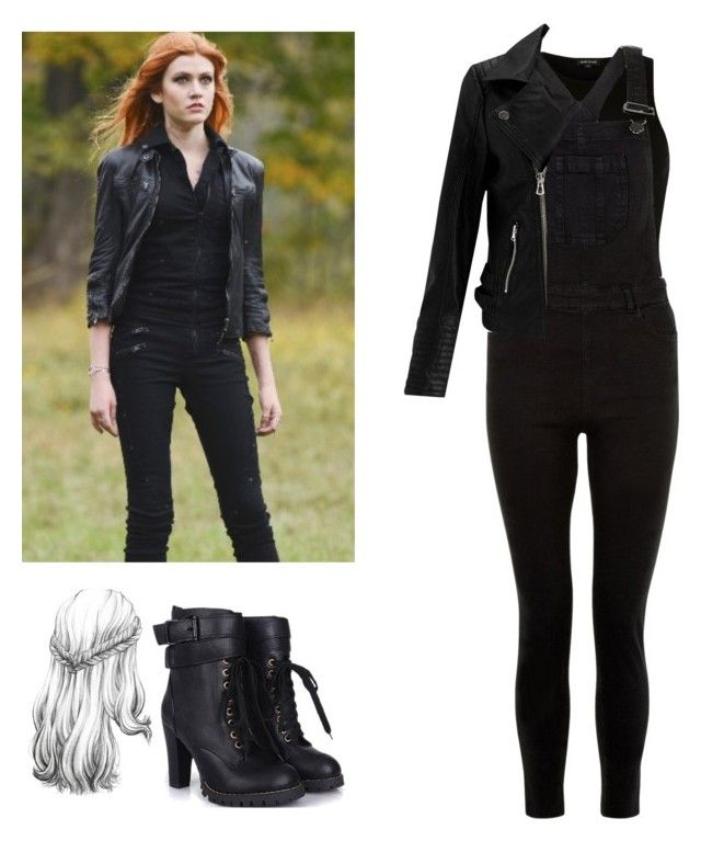 Clary Fray - Shadowhunters by shadyannon on Polyvore featuring polyvore fashion style River Island Miss Selfridge New Look clothing
