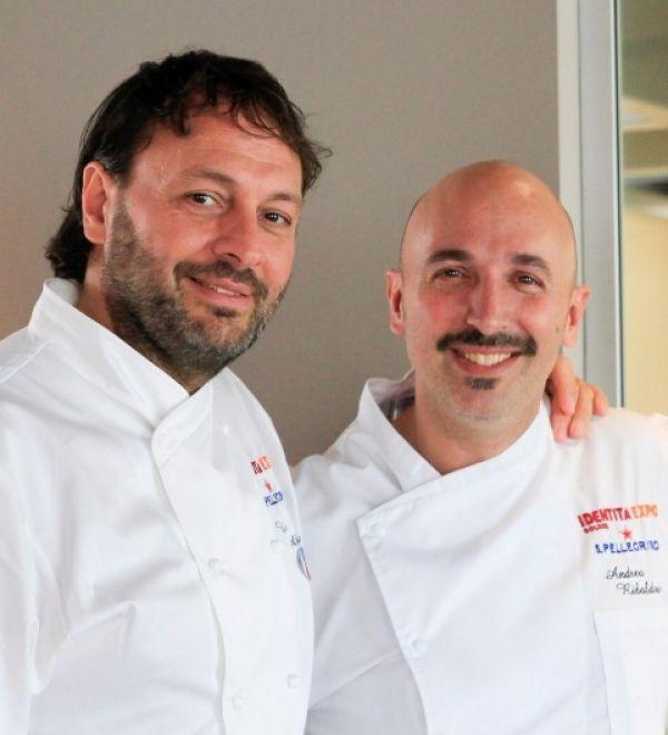"""GAVI -Domenica 30 agosto, a partire dalle ore 18 """"Nel Cortile"""" della tenuta La Palazzina, in via Rovereto 19 a Gavi, tre chef stellati saranno i prot..."""