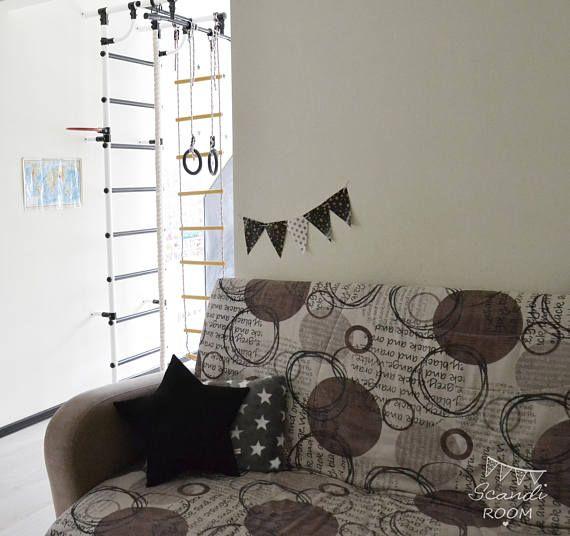 Soft black pillow Star. cushion kids. Nursery Decor.