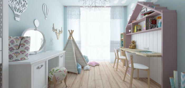 10 stijlvolle slaapkamers voor kinderen