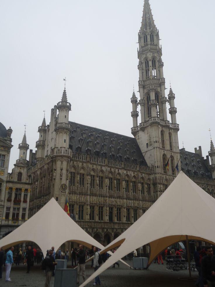 Ayuntamiento de Bruselas.