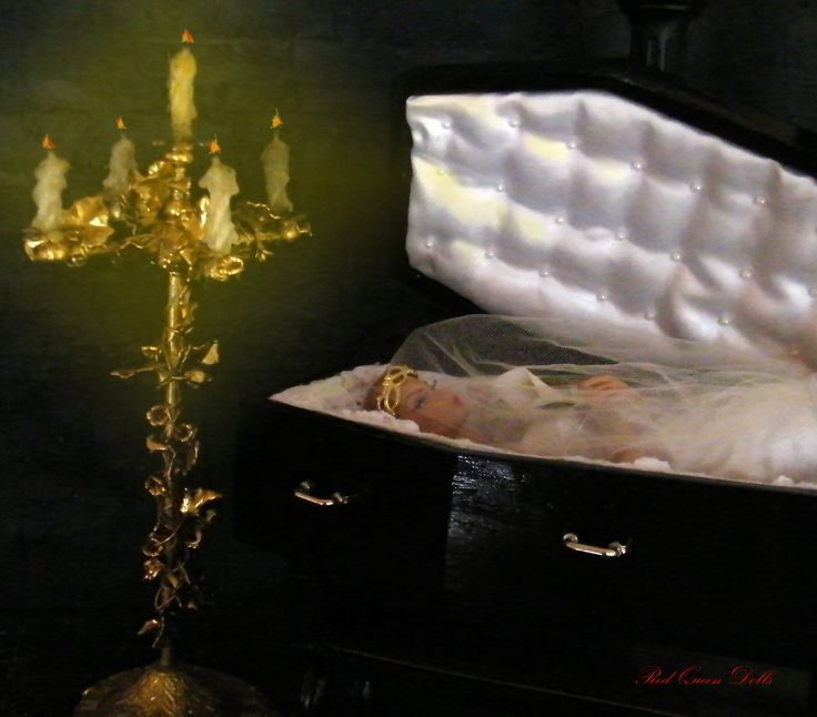 Halloween, Coffin, Candelabra, Fashion Royalty, Victoire Roux, Goth