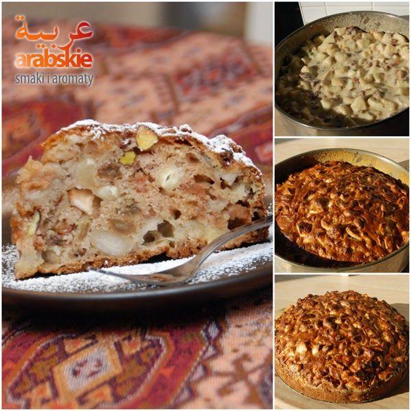 Arabskie smaki i aromaty: Jabłka, orzechy, rodzynki, zero tłuszczu. Placek w...