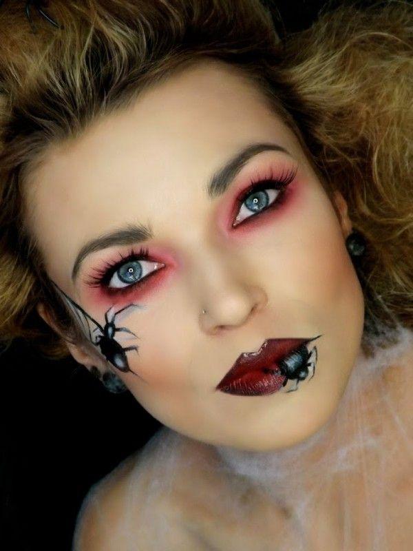 makeup, makeupart, artist, makijaż, charakteryzacja, wizaż, makijaż na każdą okazję, makijaż oka,  MAKIJAŻ, czrownica, hallowen makeup, MAKIJAŻ CZAROWNIACA WITCH MAKEUP HALLOWEEN pająk