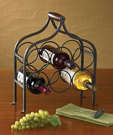 Take a look at this 6-Bottle Wine Rack by Park Designs on #zulily today!