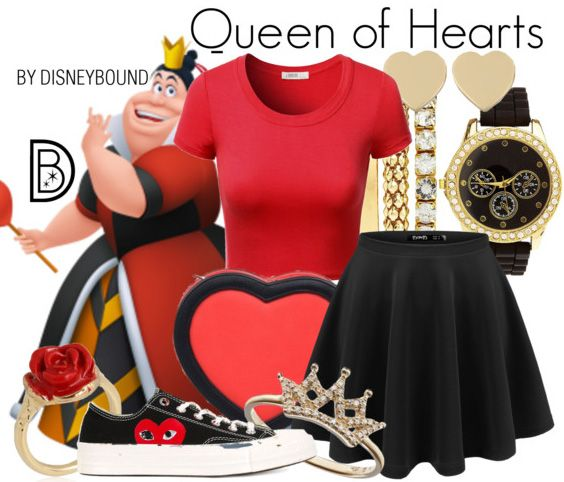 Queen of Hearts by Disney Bound