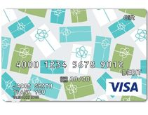 Visa Gift Card - always helpful, especially since there are so many different stores here.