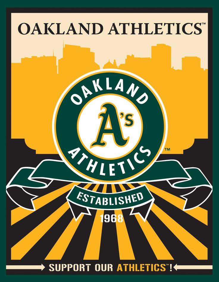 Oakland Athletics Speakman art (Target)