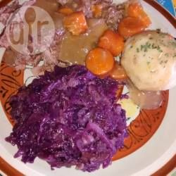 Col morada estilo alemana (rotkohl) @ allrecipes.com.mx