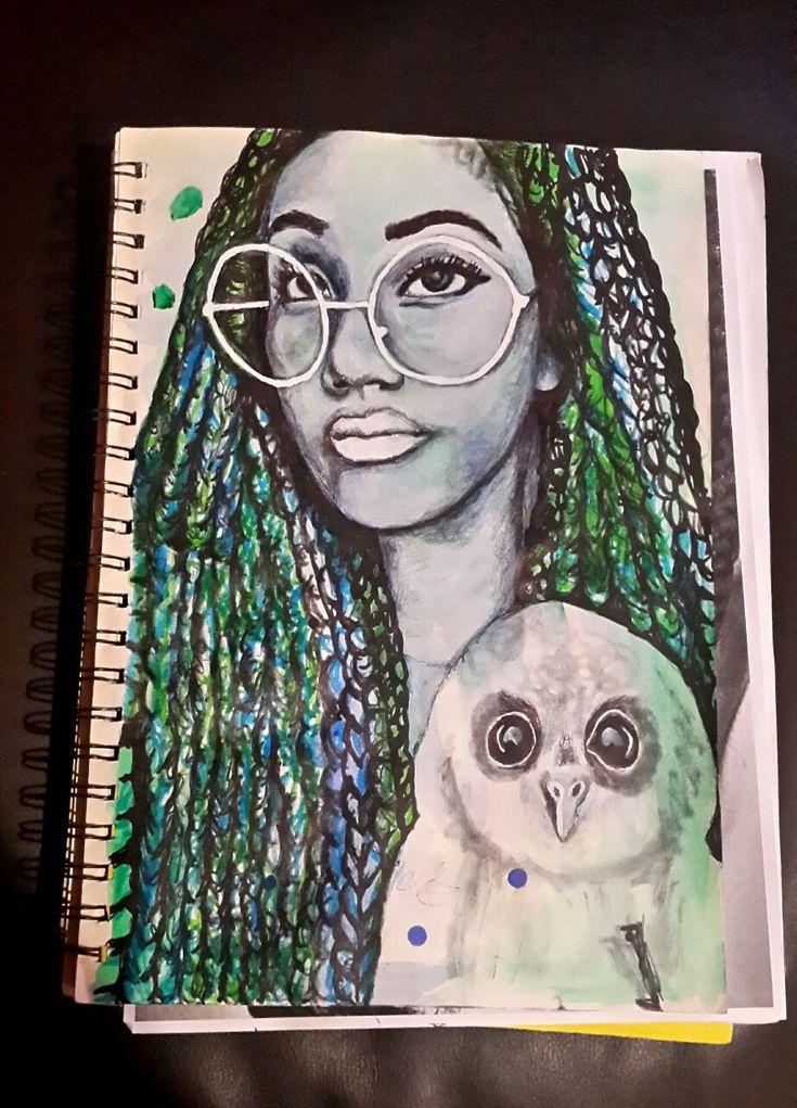 WIP - Athena, Goddess of Wisdom. 2016 by vanilla-riot.deviantart.com on @DeviantArt