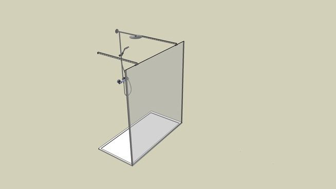 open douche - 3D Warehouse