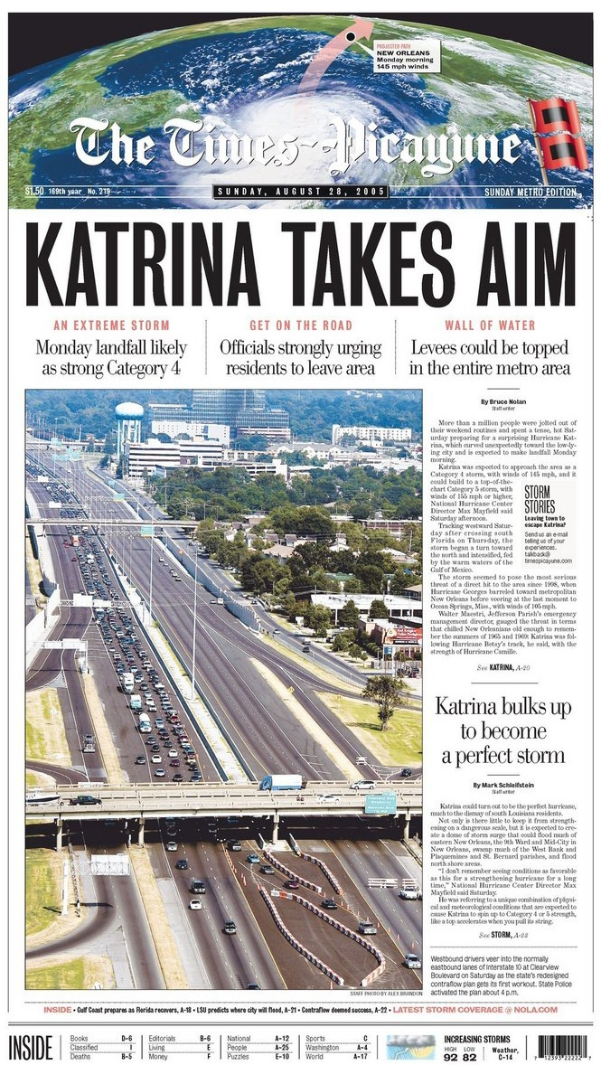 KATRINA ♦ 28.08.05 - The Times-Picayune