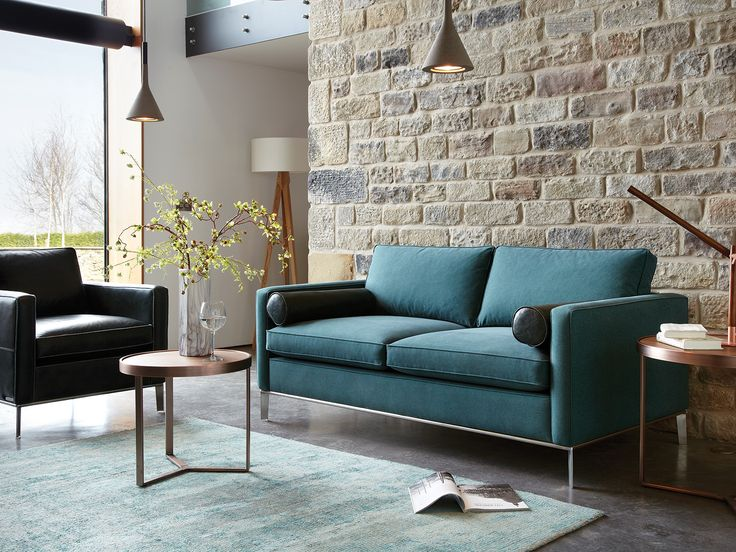 Part of the Duresta Domus collection, the Brooklyn large sofa is perfect for modern homes.
