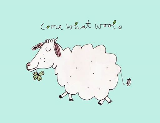 #come what wool karindrawings