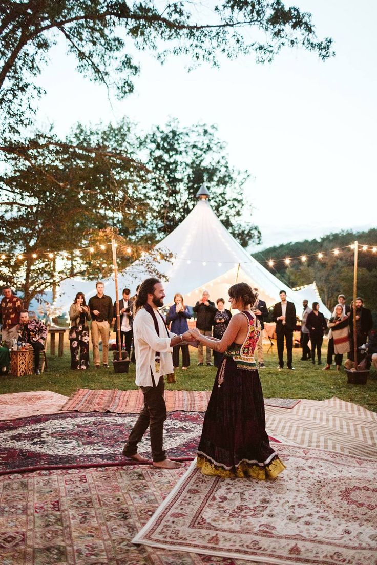 Vibrant Gypsy Wedding Margaret and Garrison's Eclectic and Free Spirited Bohemian Bazaar at Foster Falls USA