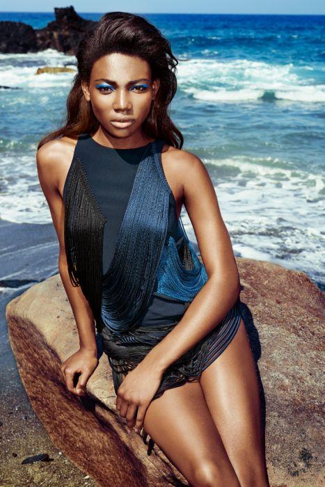 Osi Ugonoh Top Model TVN dla Glamour 01/2015