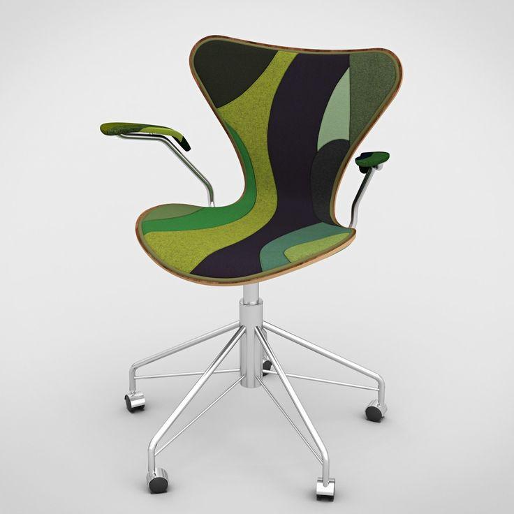 De beroemde Series 7 Chair krijgt herontwerp van zeven architecten - Roomed | roomed.nl