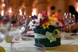 Certosa di San Giacomo. Centrotavola country chic per un matrimonio a contatto con la natura. | Certosasangiacomo