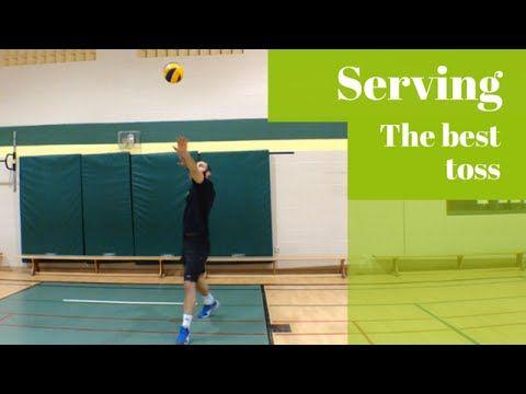 Jump Volleyball Serving the best toss