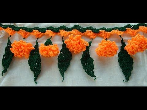 PART 1- How to Crochet Marigold galgota Flower Stitch Tutorial for Beginners - YouTube