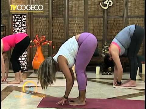 YOUR YOGA PRACTICE ON COGECO! Online at location the Clarity Centre