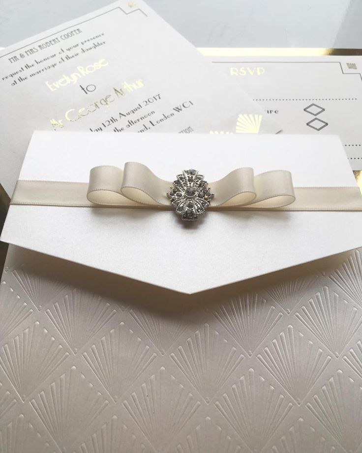 sample wedding invitation letter for uk visa%0A Our stunning new wedding Invitation from our LUCILLE Collection  The  perfect Art Deco Gatsby