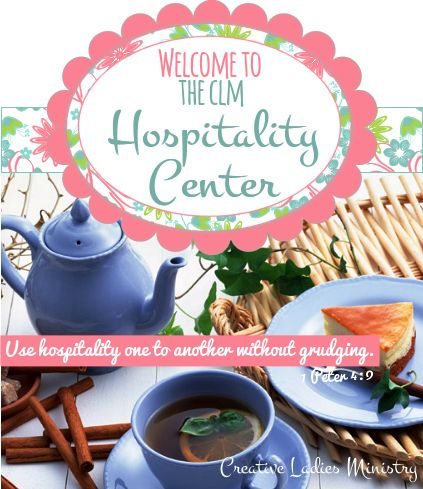 Hospitality and Entertainment for Womens Ministry:  from Creative Ladies Ministry