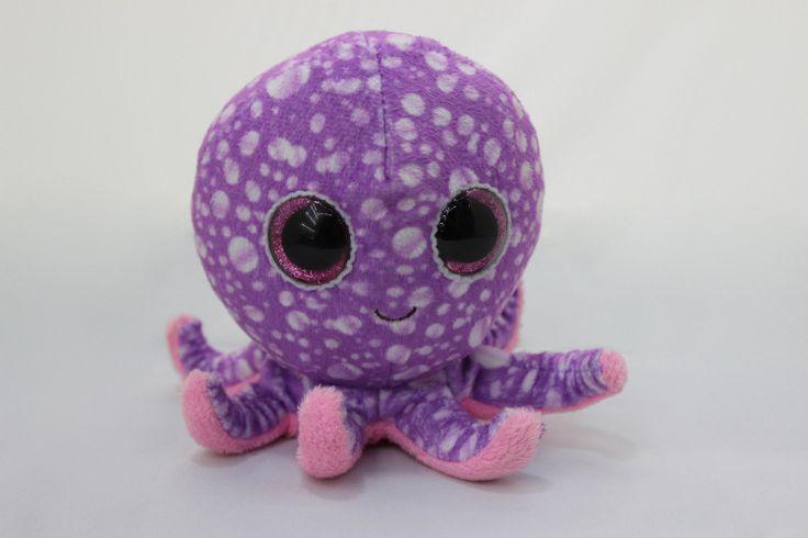 2015 nouvelle ty beanie boos mignon jambes poulpe pourpre - Toutou a gros yeux ...