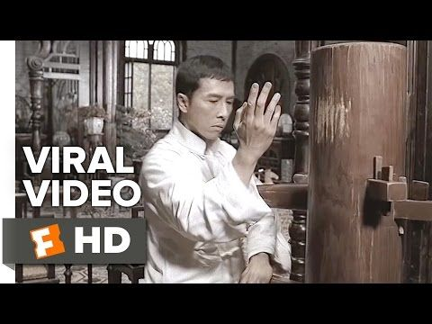 IP Man 3 VIRAL VIDEO - Wooden Dummy Lesson (2016) - Wilson Yip Movie HD - YouTube