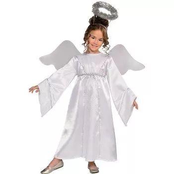 disfraz de angel, navidad, para niñas envio gratis