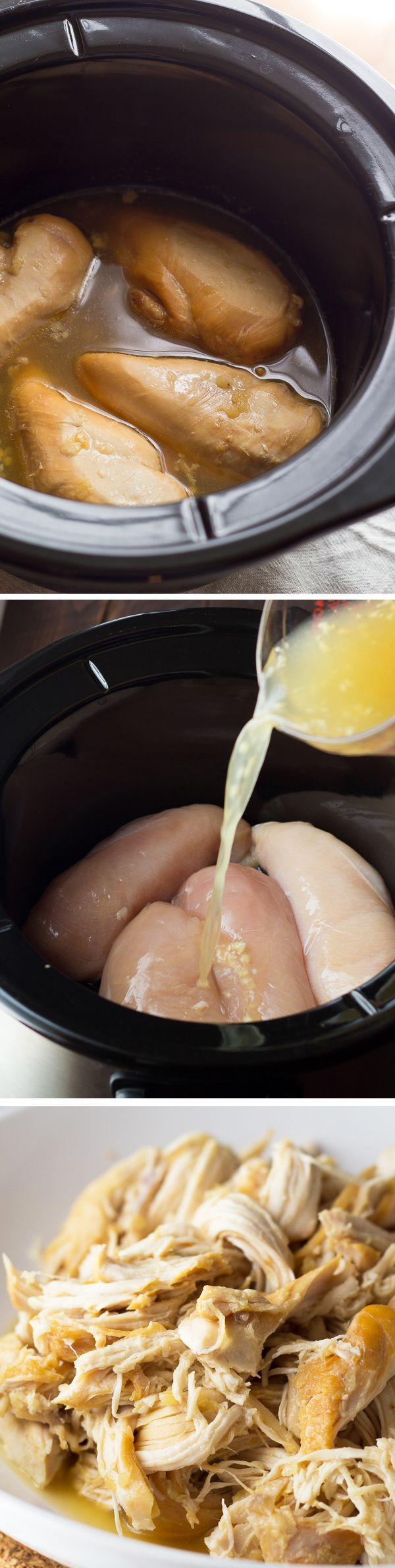 Slow Cooker Honey-Lime Chicken and three ways to use it! @sweetpeasaffron