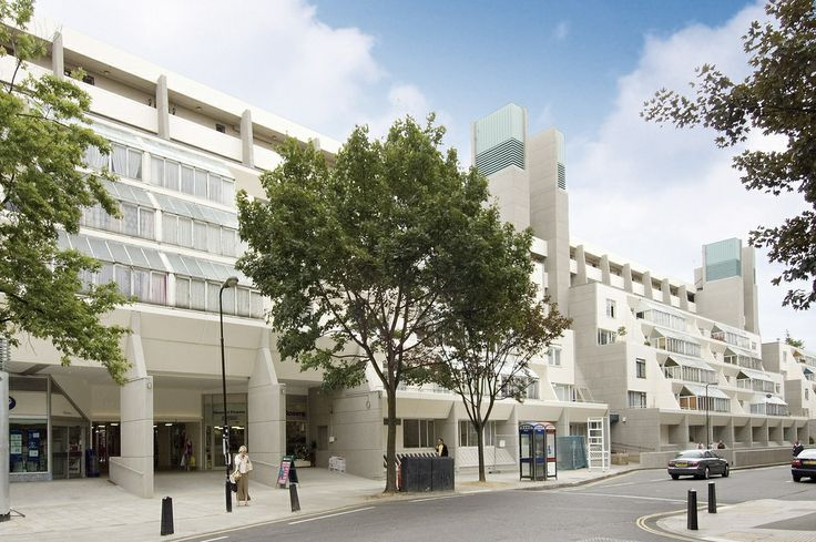 The Brunswick Centre, Bloomsbury in walking distance of Passfield Hall