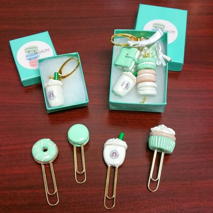 """I've been on a bit of a planner clip/charm spree lately. I just received these from @myluckycharm_  Can you Believe all of this cuteness?!! I may need to…"""