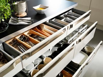 HGTV Has Inspirational Pictures, Ideas And Expert Tips On Kitchen Cabinet  Organizers For A Clean Part 96