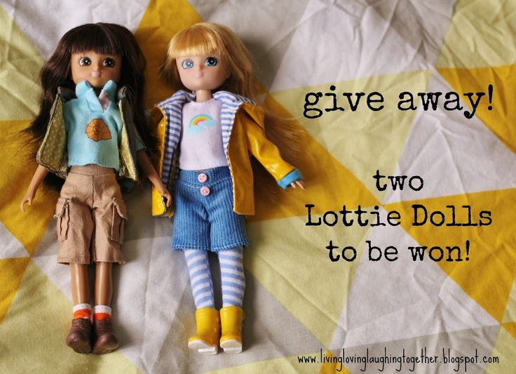 living, loving, laughing...: {Give Away!} Lottie Dolls // From Archaeology to Astronomy, Lottie can do it all!