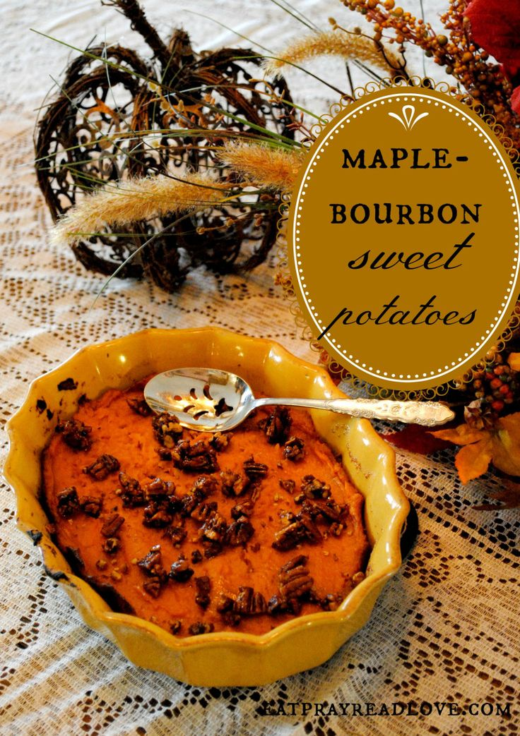 These Bourbon Maple Sweet Potatoes are sure to be a hit at your next ...