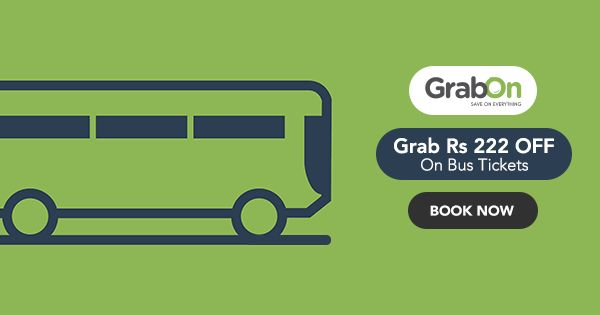 Book your bus tickets online and save big with these attractive offers. #TravelThursday #LongWeekends #SaveOnGrabOn