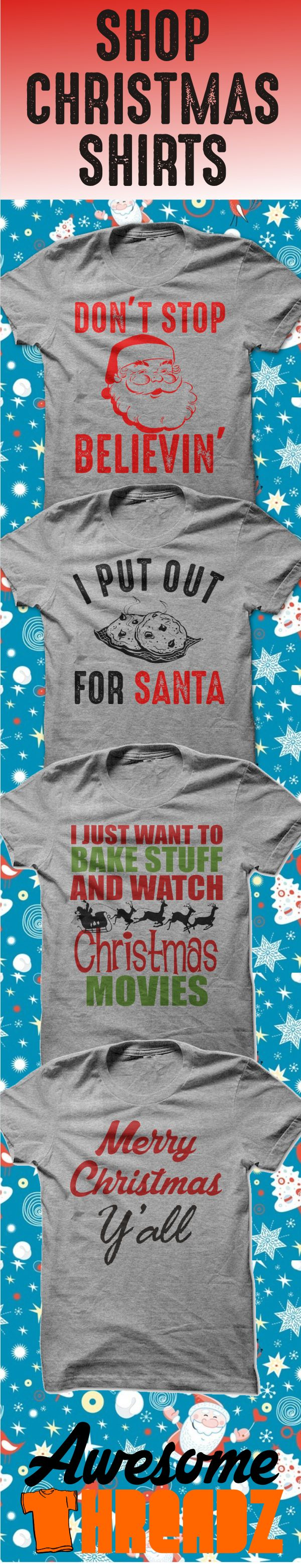 Shop Christmas Shirts! Check out our awesome Christmas T-Shirts.