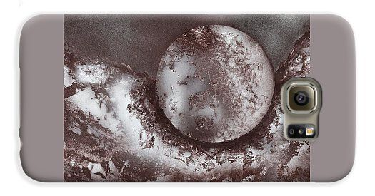 Marble Planet Galaxy S6 Case Printed with Fine Art spray painting image Marble Planet by Nandor Molnar (When you visit the Shop, change the orientation, background color and image size as you wish)