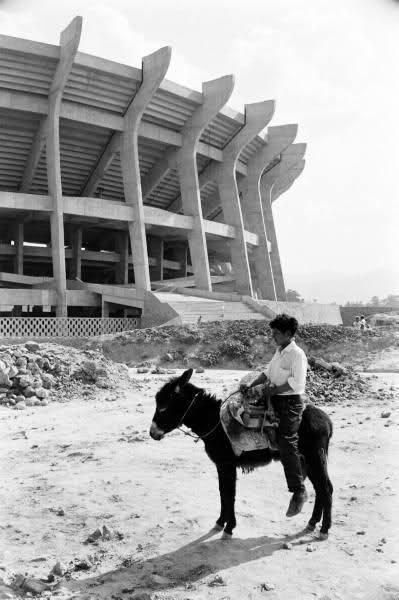 1950s. Estadio Azteca
