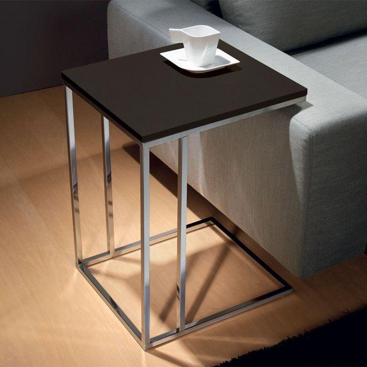 Tavolino da salotto lato divano Lamina