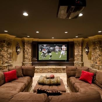 Basements - U Shaped Sectional Sofa - Design photos ideas and inspiration. Amazing gallery of interior design and decorating ideas of U Shaped Sectional ... & Best 25+ U shaped sectional ideas on Pinterest | U shaped couch U ... islam-shia.org