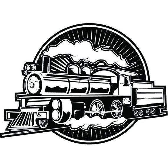 Steam Engine 23 Train Locomotive Smoke Vintage Railroad Etsy Locomotive Train Steam Engine