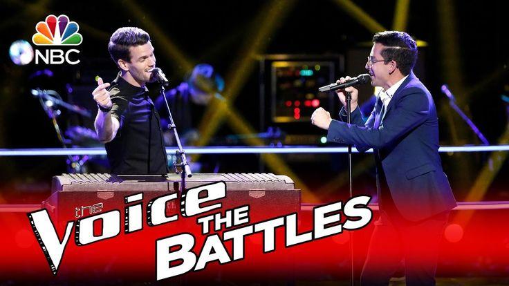 """The Voice 2016 Battle - Dave Moisan vs. Michael Sanchez: """"Valerie"""""""