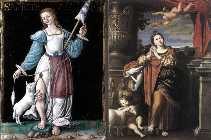 21 de enero. Hoy celebramos también a ... Santa Inés