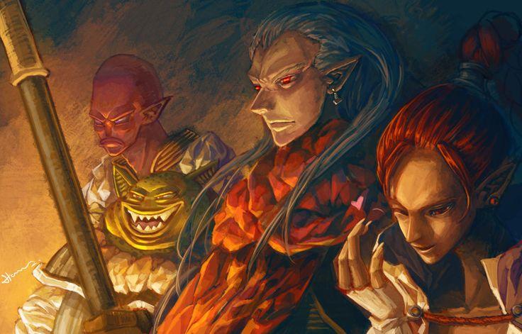 Chrono Trigger : Magus Team by Hooooon.deviantart.com on @deviantART